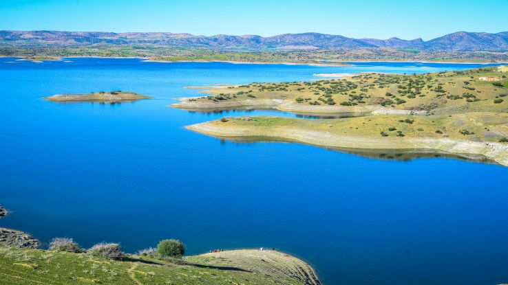 Fas'ta Baraj gölü