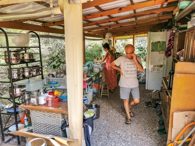 Flora akdeniz bahçesi mutfağı