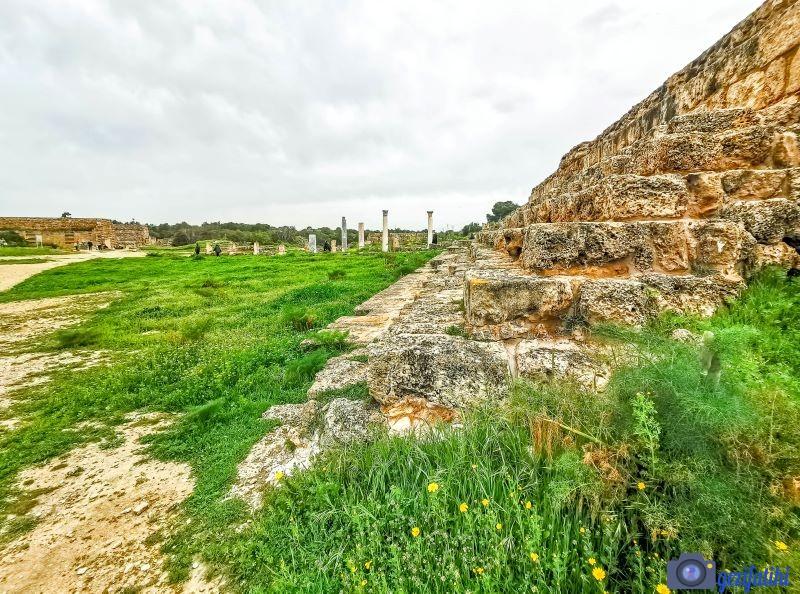 Salamis antik şehrinin stadyumu