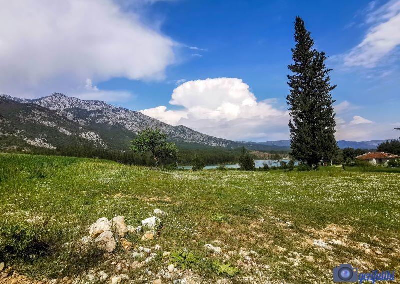 Akbaş göleti çevresinde bulunan doğal alanlar