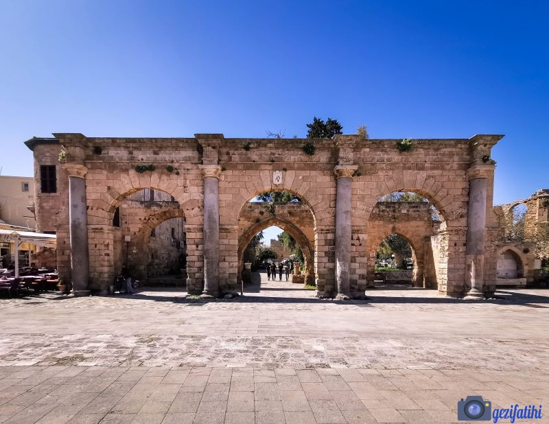 Mağusa'nın tarihi merkezi kaleiçi