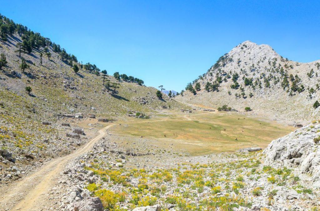 Toros dağlarındaki gezimizde ulaştığımız en yüksek nokta burasıydı 1800 metre