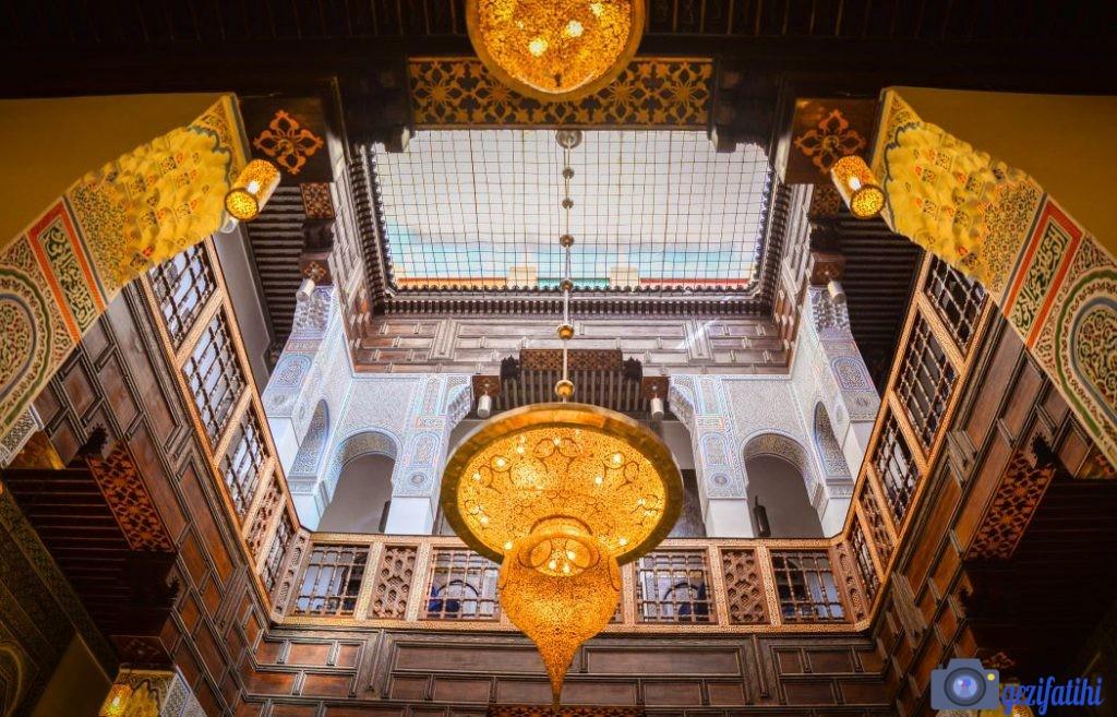 Riadlar Fas'ta geleneksel mimarinin bir parçasıdır.